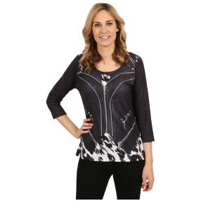"BRILLIANT SHIRTS Damen-Shirt ""Lovely Leopard"""