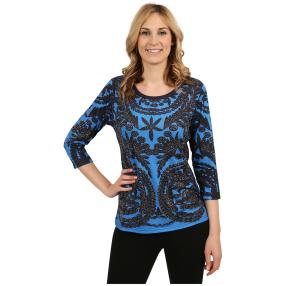 "BRILLIANT SHIRTS Damen-Shirt ""Blue Delight"""