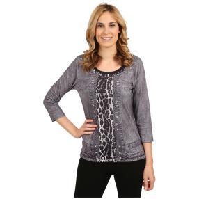 "BRILLIANT SHIRTS Damen-Shirt ""Wild Grey"""