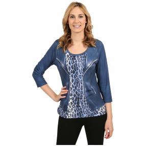 "BRILLIANT SHIRTS Damen-Shirt ""Wild Blue"""