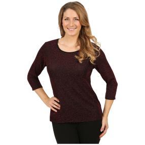 """IMAGINI Damen-Shirt """"Amana"""" schwarz/rot"""