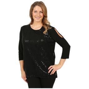 "IMAGINI Damen-Shirt ""Sanjana"" schwarz"