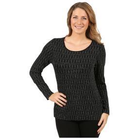 "IMAGINI Damen-Shirt ""Taruna"" schwarz/silber"
