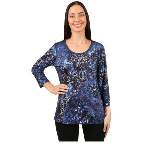 """BRILLIANTSHIRTS Damen-Shirt """"Blue Shades"""""""