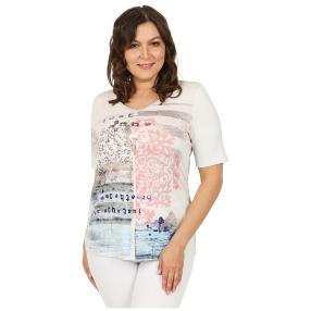 "my way FER Damen-Shirt ""Mélange"""