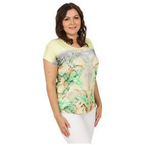 """my way FER Damen-Shirt """"Beauté an vert"""""""