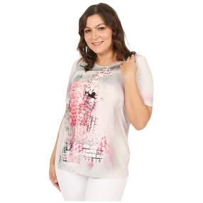 "my way FER Damen-Shirt ""Amour rose"""