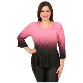"Jeannie Damen-Plissee-Shirt ""Amalfi"""