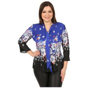 """Jeannie Damen-Plissee-Shirt """"Marsala"""" Schluppe"""