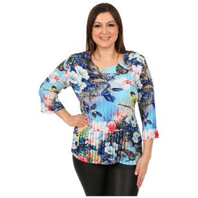 "Jeannie Damen-Plissee-Shirt ""Otranto"""