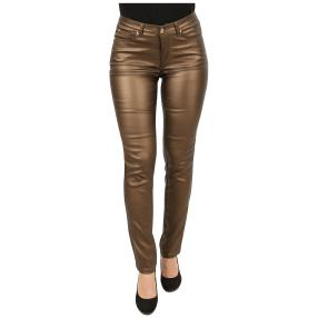 "Jet-Line Damen-Hose ""Brown Metallic"""