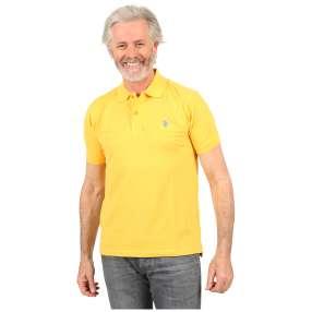 U.S. POLO ASSN. Herren-Poloshirt gelb