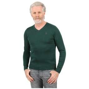 U.S. POLO ASSN. Herren-Pullover grün