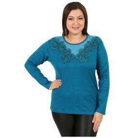 """Damen-Pullover """"Flora"""" blau"""
