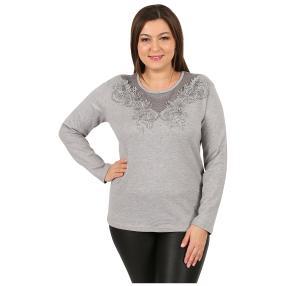 """Damen-Pullover """"Flora"""" grau"""
