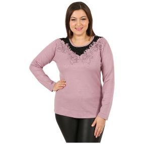"Damen-Pullover ""Flora"" rosa"