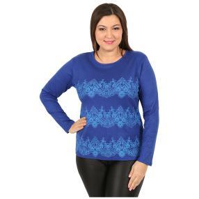 "Damen-Pullover ""Lacy"" royalblau"