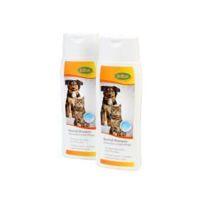 Bubimex 2 x Neutral Shampoo für Katzen und Hunde