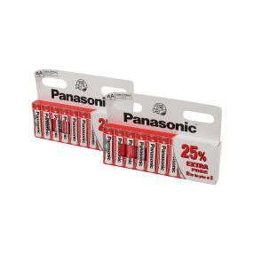 20x Panasonic Batterien AA