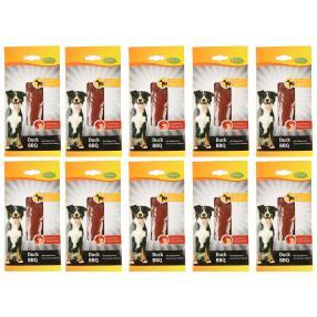 Bubimex Entenfilet BBQ für Hunde 10 x 35 g