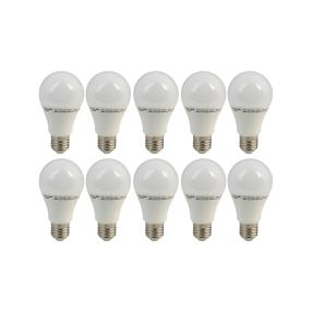 10x LED-Birnenform E27, 60 W