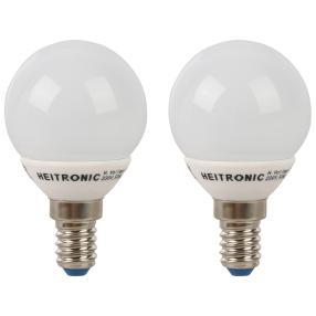 2x LED Leuchtmittel E14 3,2W WARMWEISS TROPFEN