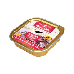 16 x Lachs pur 100 g Single Protein Nassfutter