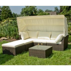 Lounge-Sofa SANTIAGO, coffee