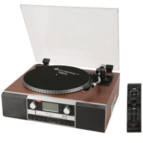 Plattenspieler-Radio mit CD-Brenner