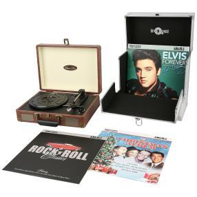 Vinyl-Plattenspieler Set inkl. 3 Schallplatten