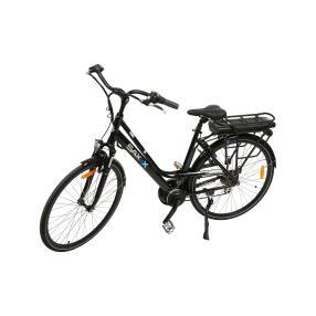 Saxxx Urbano E-Bike, schwarz