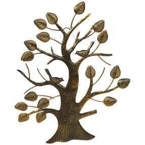 """Solarwanddeko """"Baum mit Vögel"""""""