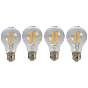 4x LED Leuchtmittel E27