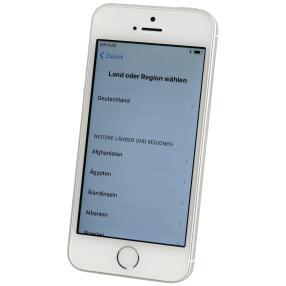 Apple iPhone SE 16 GB, silber, refurbished
