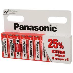 10er Set Panasonic AA