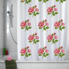 Duschvorhang Rosen