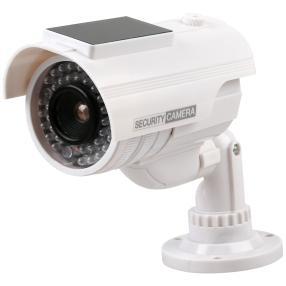 Solar Überwachungskamera Attrappe