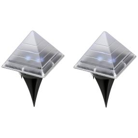 2er Set Solarpyramide