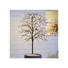 "Beleuchteter LED Baum ""Trauerweide"""