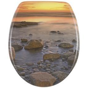 WENKO WC-Sitz Stone Shore
