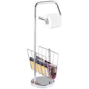 WENKO Stand WC-Garnitur mit Zeitungshalter