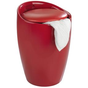WENKO Hocker Candy Red, Badhocker