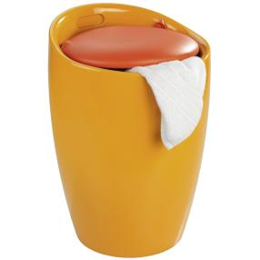 WENKO Hocker Candy Orange, Badhocker