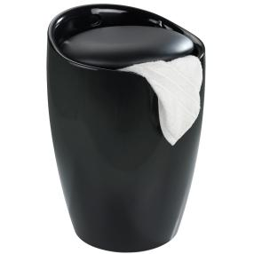 WENKO Hocker Candy Black, Badhocker