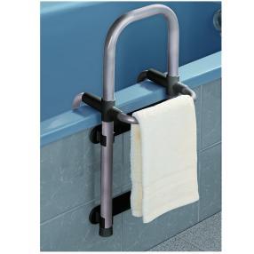 WENKO Badewannen-Einstiegshilfe Secura Silber