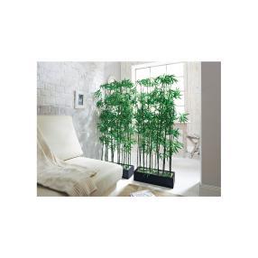 Kunstpflanze Raumtrenner Bambus