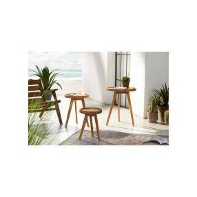 Gartentisch Zirkel, klein, 30x30x40,5 cm