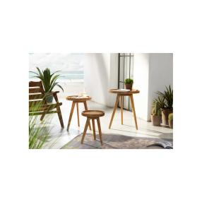 Gartentisch Zirkel, groß, 50x50x60,5 cm
