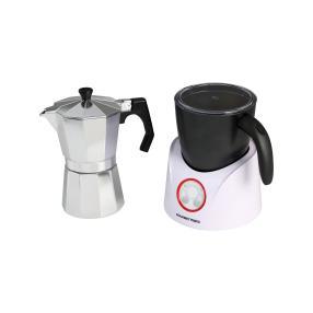 Espressokocher + Milchschäumer