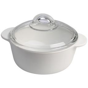 Vitro Kochtopf 1,0 Liter, mit Glasdeckel